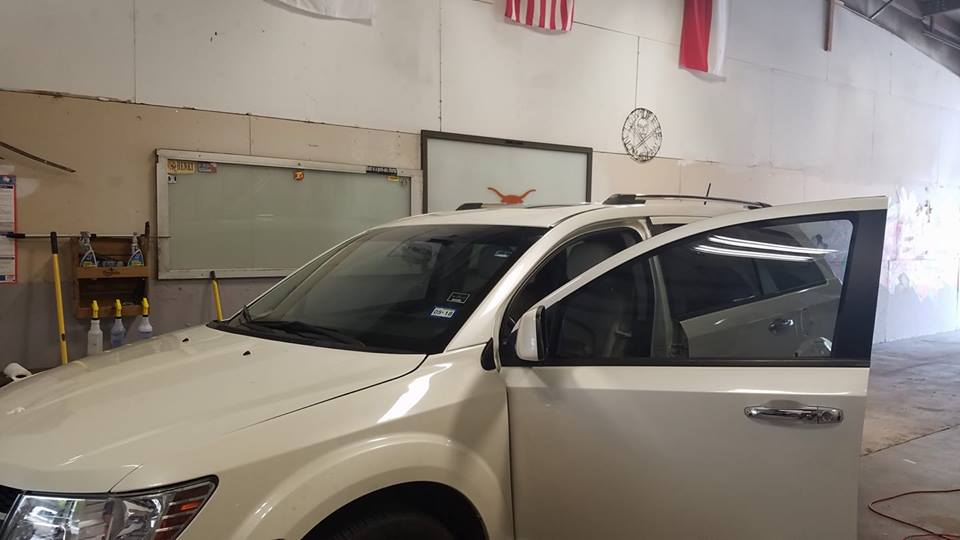 austin-window-tint-white-hatchback